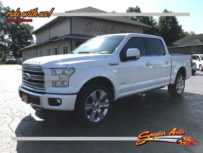 2017 WHITE FORD F150 SUPERCREW (1FTEW1EG7HF) with an 3.5L engine, Automatic transmission, located at 101 S. Halleck St., DeMotte, IN, 46310, (219) 987-2922, 41.202343, -87.198189 - Photo #0