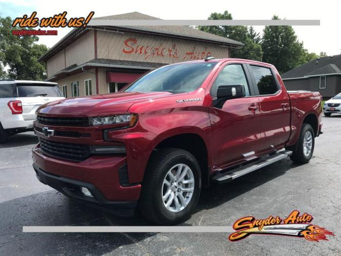 2019 RED CHEVROLET SILVERADO 1500 RST (1GCUYEED0KZ) with an 5.3L engine, Automatic transmission, located at 101 S. Halleck St., DeMotte, IN, 46310, (219) 987-2922, 41.202343, -87.198189 - Photo #0
