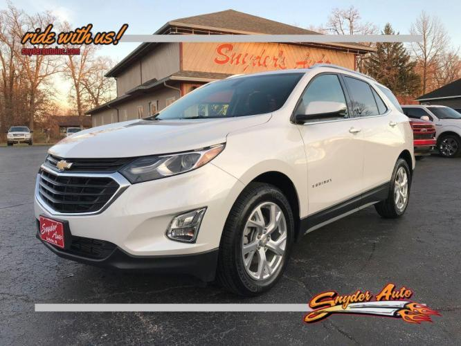2018 WHITE CHEVROLET EQUINOX LT (2GNAXTEX5J6) with an 2.0L engine, Automatic transmission, located at 101 S. Halleck St., DeMotte, IN, 46310, (219) 987-2922, 41.202343, -87.198189 - Photo #0