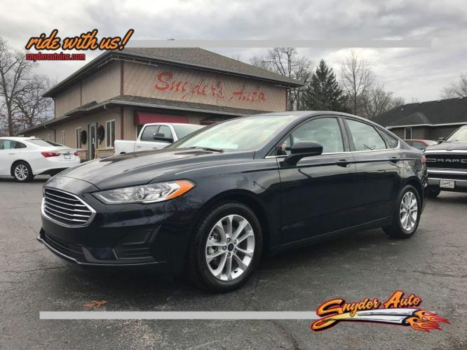 2020 FORD FUSION 4DR