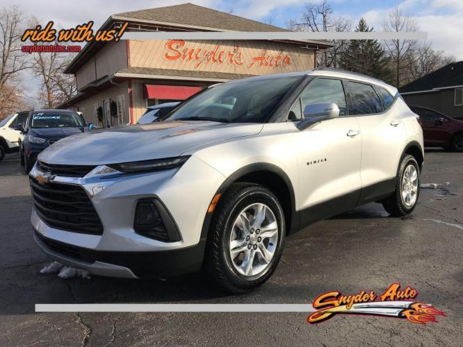 2019 SILVER CHEVROLET BLAZER 1LT (3GNKBBRA9KS) with an 2.5L engine, Automatic transmission, located at 101 S. Halleck St., DeMotte, IN, 46310, (219) 987-2922, 41.202343, -87.198189 - Photo #0