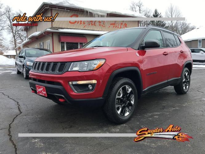 2017 JEEP COMPASS 4DR