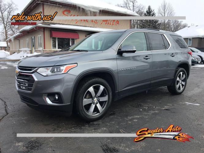 2018 CHEVROLET TRAVERSE 4DR