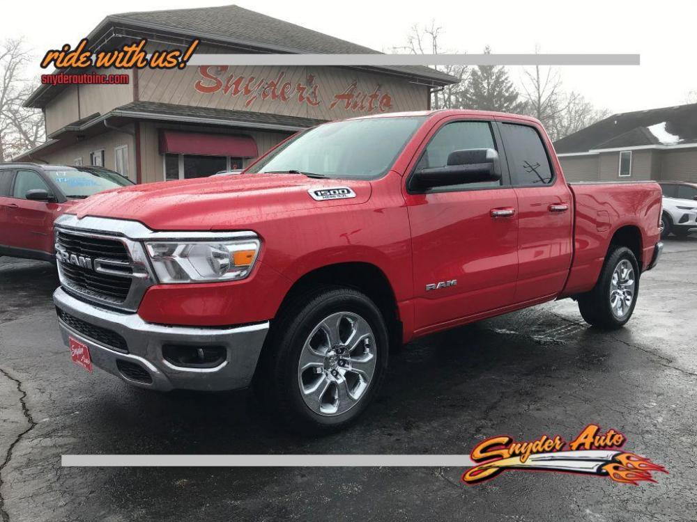 2019 RED RAM 1500 BIG HORN/LONE STAR (1C6SRFBT8KN) with an 5.7L engine, Automatic transmission, located at 101 S. Halleck St., DeMotte, IN, 46310, (219) 987-2922, 41.202343, -87.198189 - Photo #0