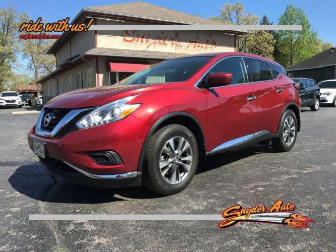 2017 NISSAN MURANO 4DR